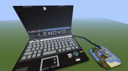 Lenovo Intel Core i5 Laptop Wool Art - Changeable Screen! Minecraft Map & Project