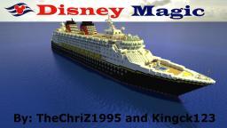 Disney Magic [1:1] Scale Replica Minecraft Map & Project
