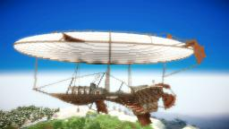 Draco Ventus Airship [+Download!] Minecraft Map & Project