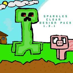 WiiD's- Sparkles Clean Design Pack 16x16 Minecraft Texture Pack