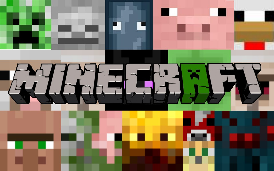 Minecraft wallpaper please diamond if used minecraft project