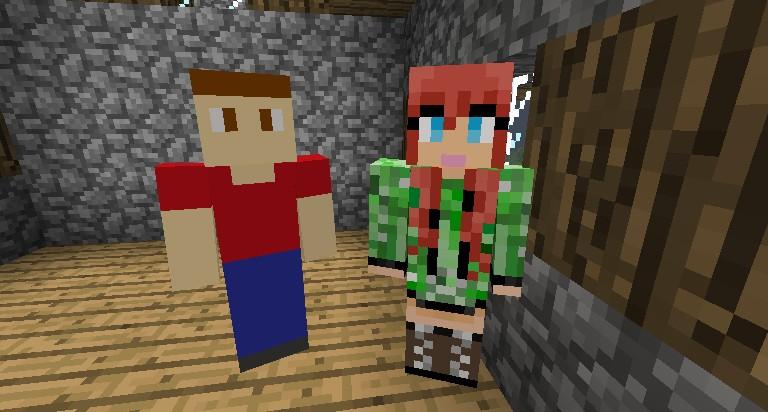 Minecraft Girlfriend Mod Villager Related Keywords