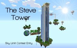 The Steve Tower Minecraft Map & Project