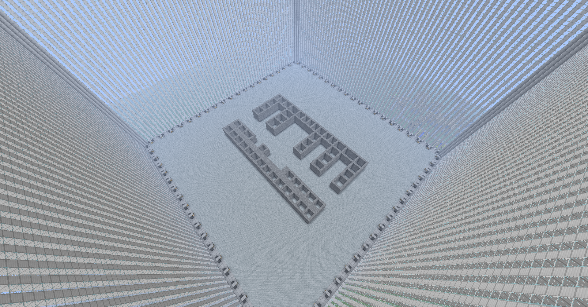 The World Trade Center in full Size Minecraft Project