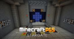 Working Stargate with Command Block without Mods Minecraft Project