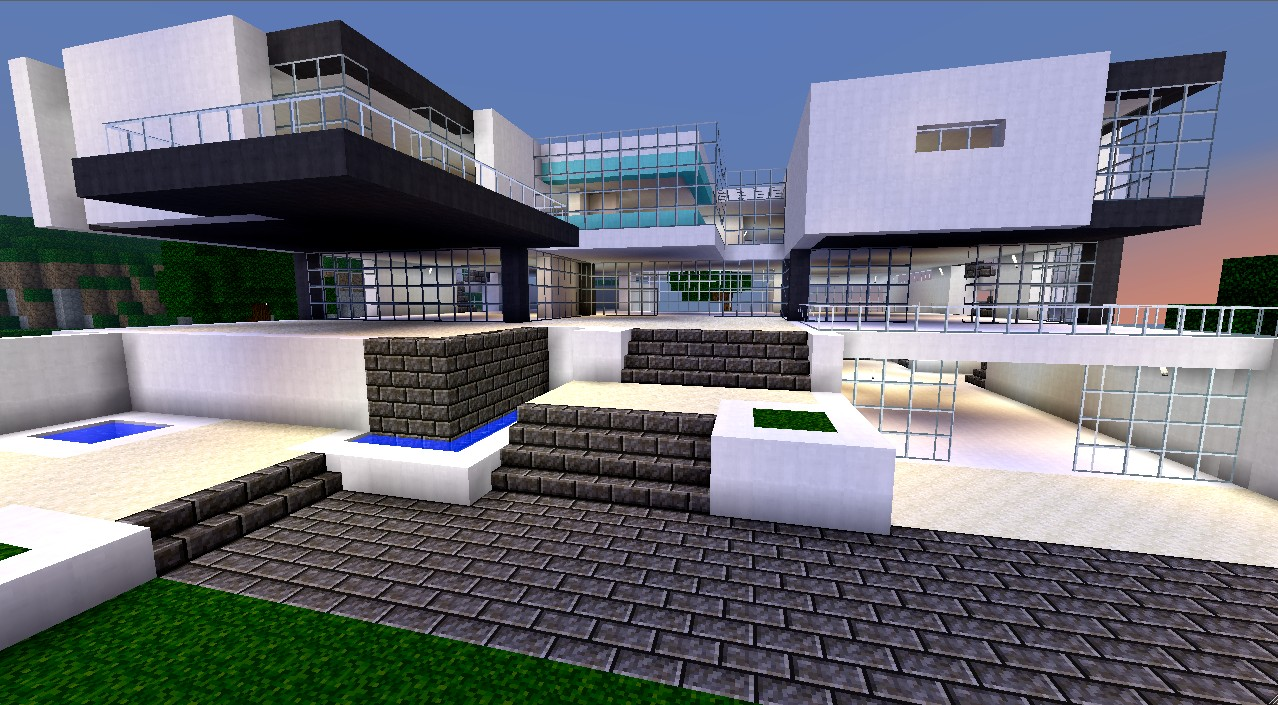 Modern House Bundle 9 Structures Minecraft Project