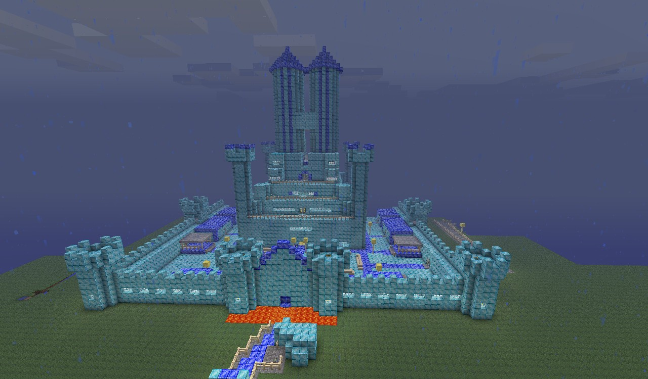Diamond Castle Minecraft Project