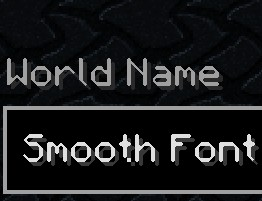 Free to use 32x and 64x HD Fonts! Minecraft Texture Pack