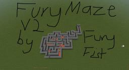 FuryMaze v2 Minecraft Map & Project