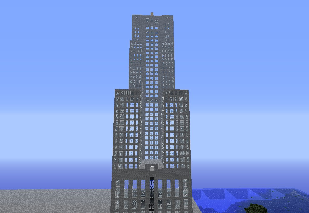 Wayne Tower (Or the Chicago Board of Trade, whichever)
