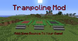 [1.4.2]Trampoline Mod -  Add some bounce to minecraft! FEATURED ON YOGSCAST Minecraft Mod