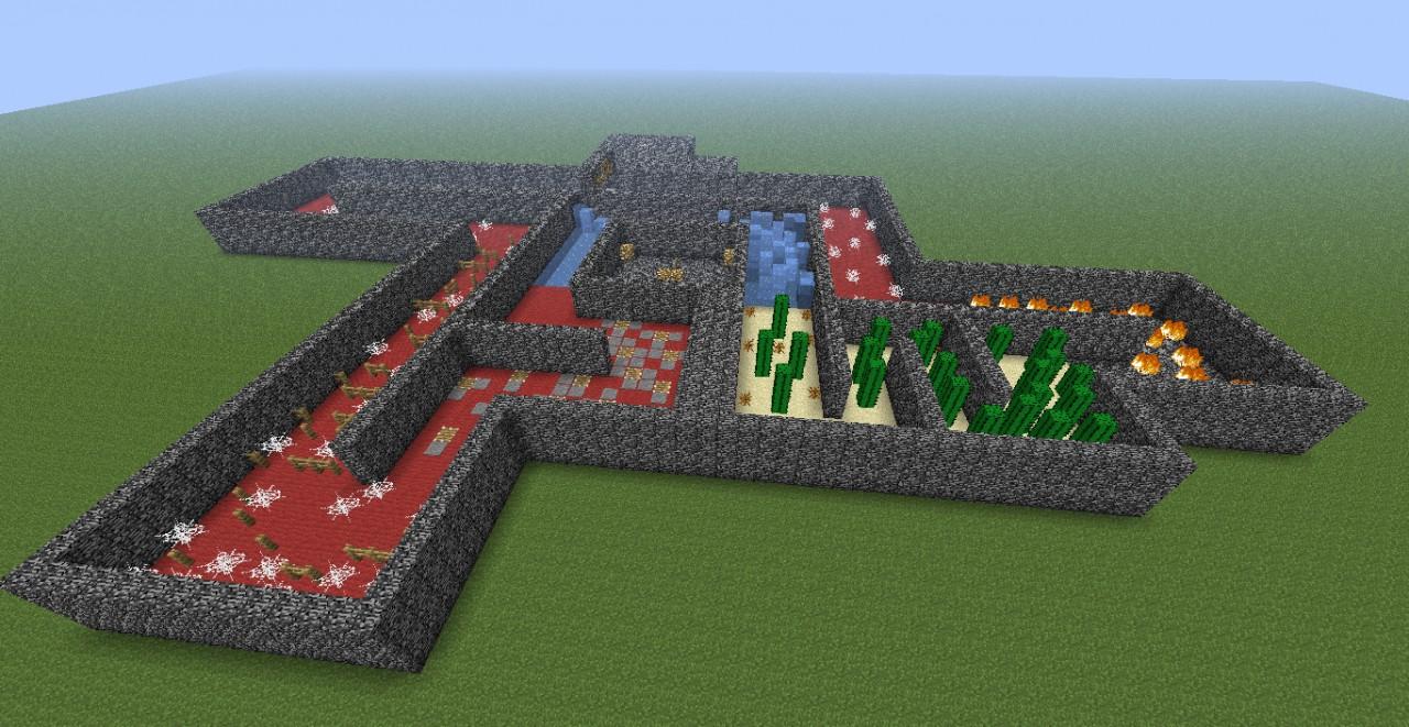 Minecraft race minecraft project