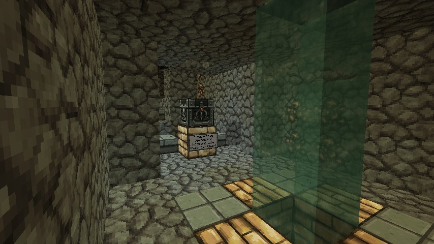 Here lies the legendary Ender Chest!