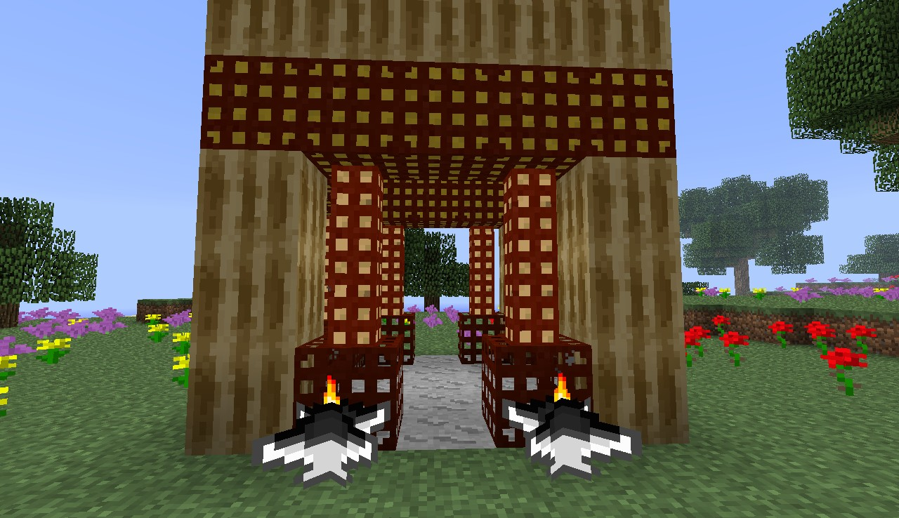 Asian building (you have to build it)