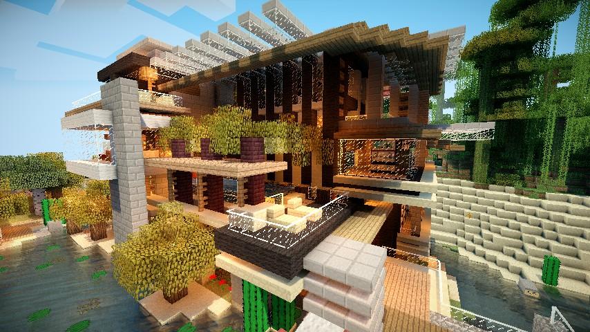 Villa Maldiva True Luxury Minecraft Project