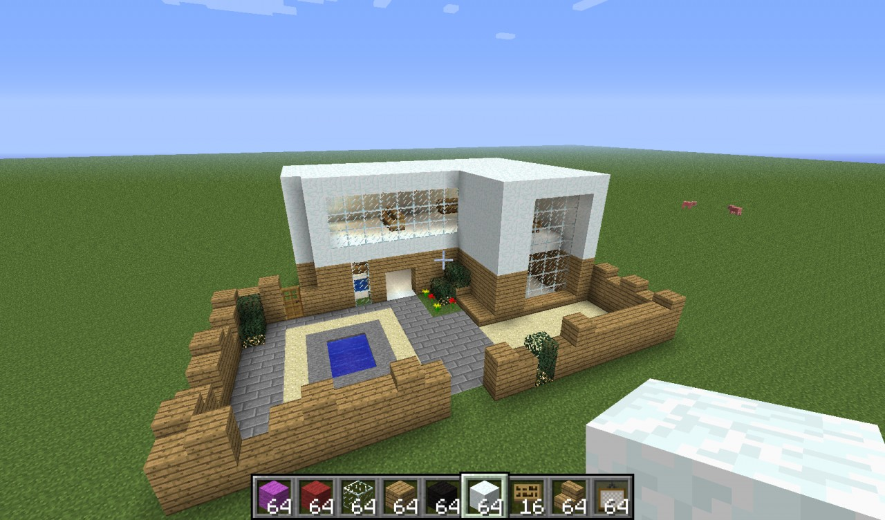 Nice Modern house Minecraft Project