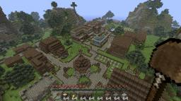 Forest Town Minecraft Map & Project