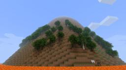 Lava Mountain Survival Minecraft