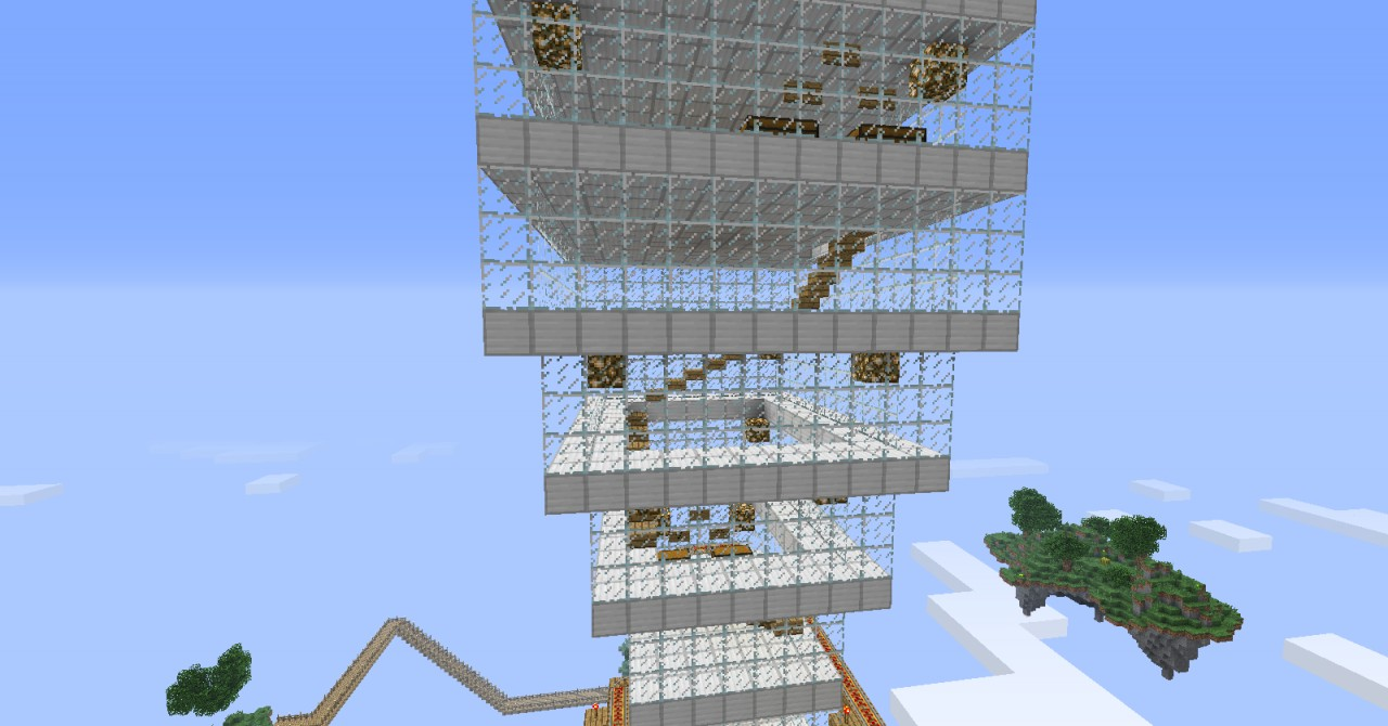 Bgwoo Skyscraper Sky Limit Entry Minecraft Project