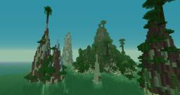 tropical archipel Minecraft Project