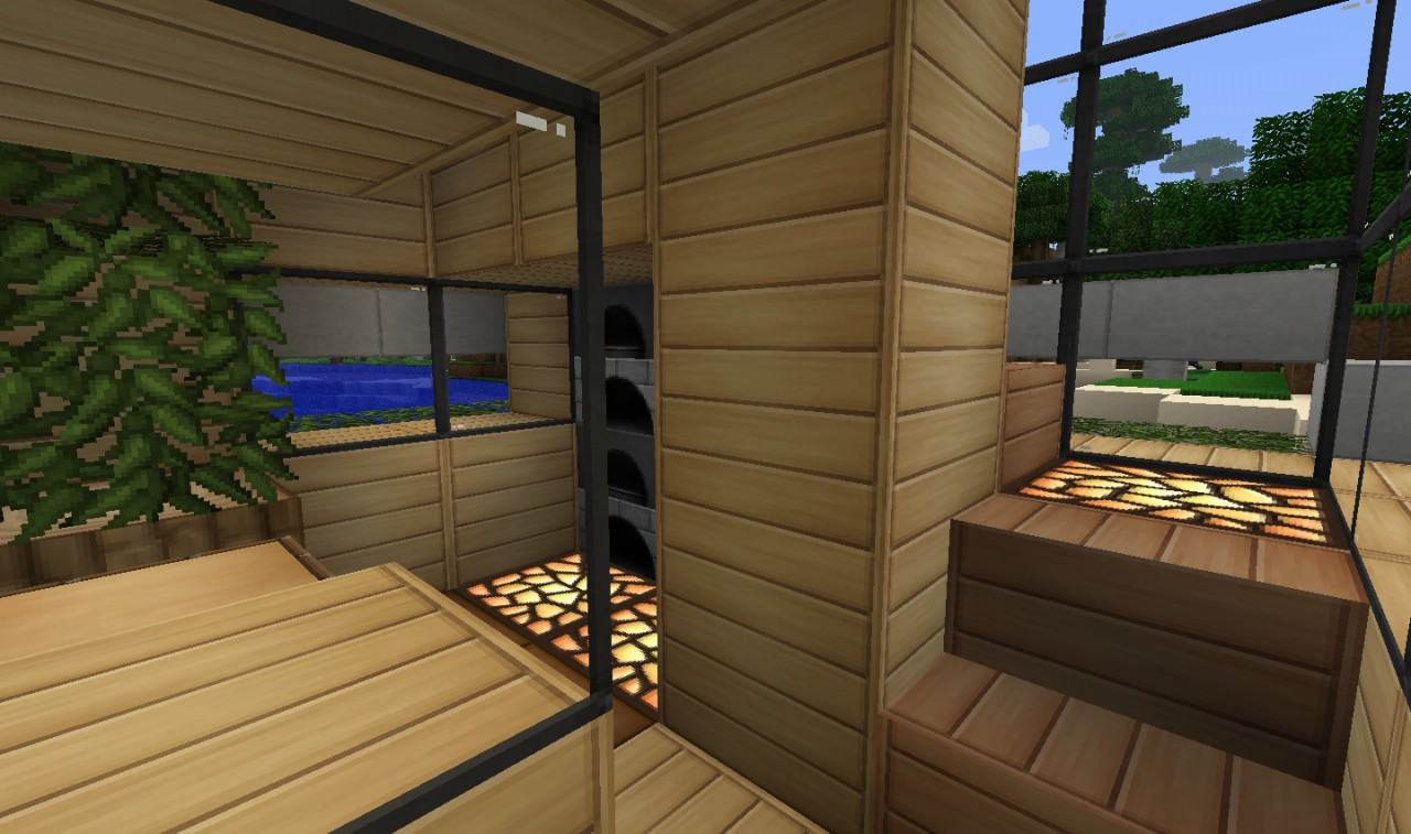 6x6 little house by iexplodez minecraft project for Modern house 6x6