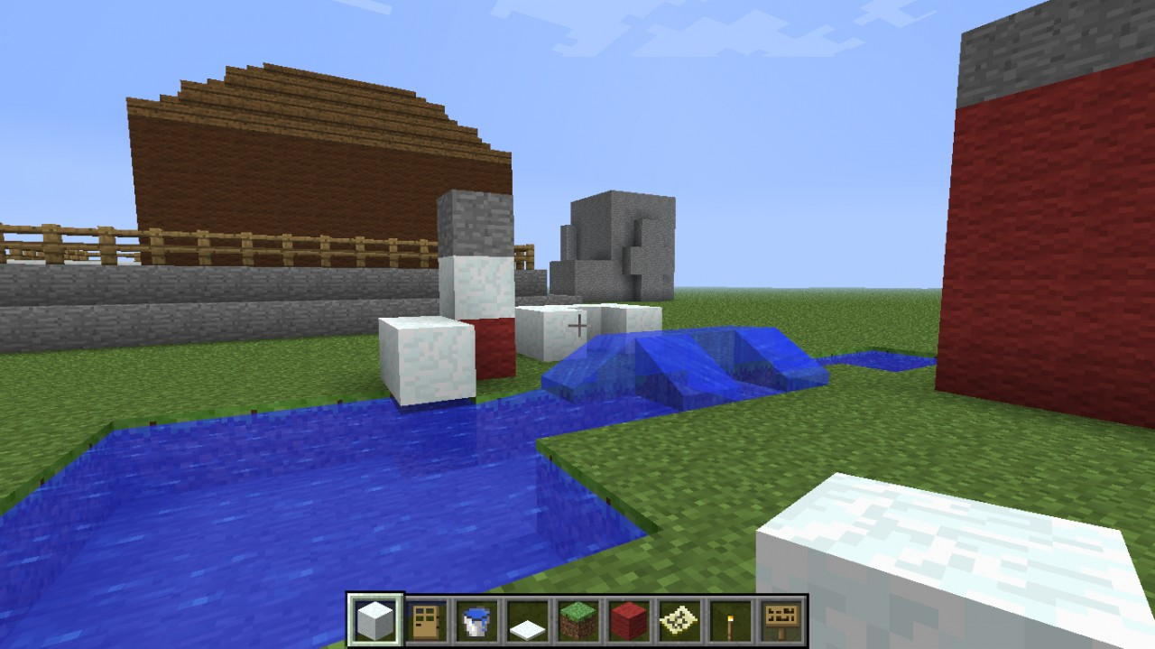 The Dock and beach ( A Little Cruddy)