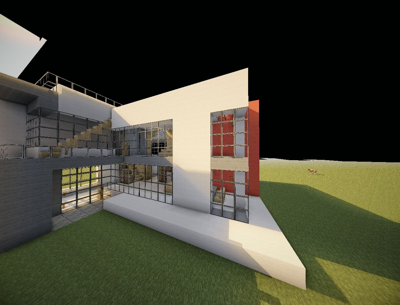 Modern House Keralis Style Minecraft Project