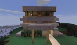 7x7 Sky House by iExplodez with farm Minecraft Map & Project