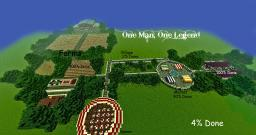 One Man, One Legend [Adventure Map] Minecraft Map & Project