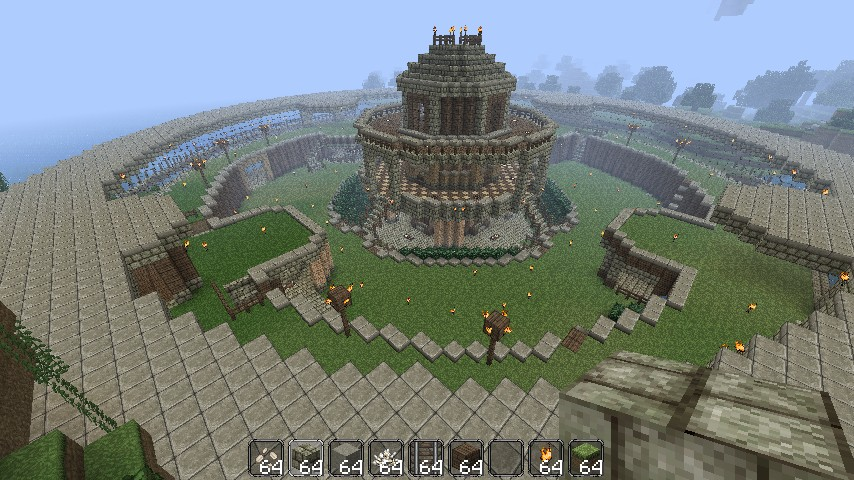 Epic minecraft base now downloadable minecraft project for Minecraft base blueprints