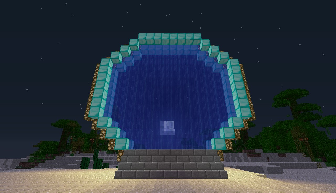 minecraft 1.10.2 how to make an end portal