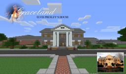 Elvis Presley's Graceland Mansion Minecraft Map & Project