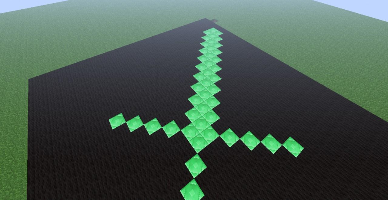 emerald sword minecraft blog