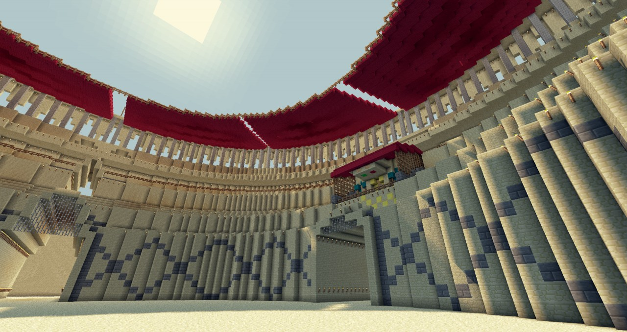 Large Colosseum Download Minecraft Map