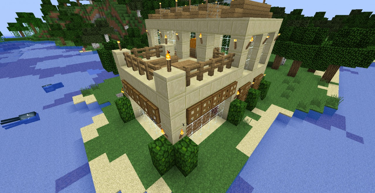 Small House 15x15 + imelapse HD Minecraft Project - ^