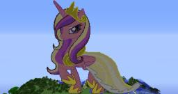 Princess Cadance (189 Blocks Tall)