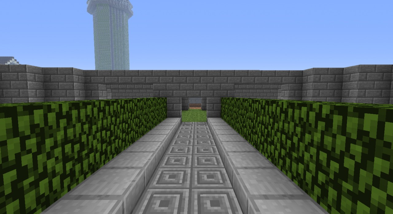 Stone Brick Castle Protocraft Minecraft Builders