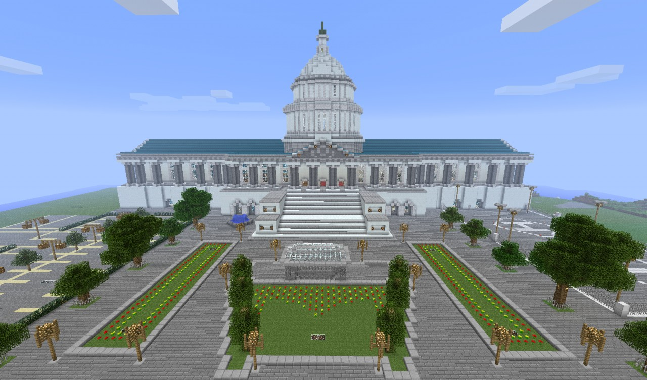 Nelsonton capitol minecraft project for What is needed to build a house
