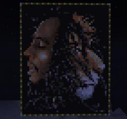 Amazing Bob Marley Pixel Art (EPIC) Minecraft Map & Project