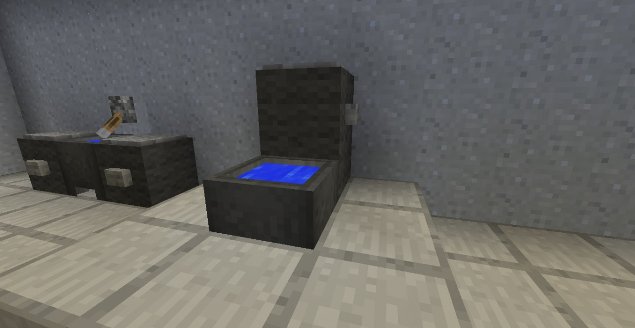 Modern bathroom minecraft project for Bathroom designs minecraft