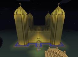 Golden Castle Minecraft Map & Project