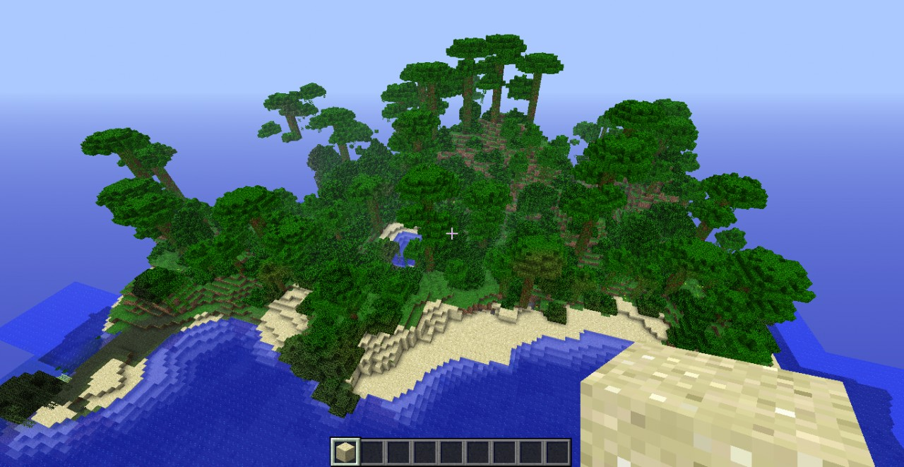 132 Tropical Island Seed Minecraft Blog