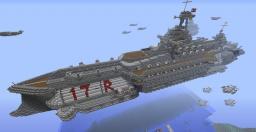 steampunk(ish) Battlecruiser, Full interior Minecraft Map & Project