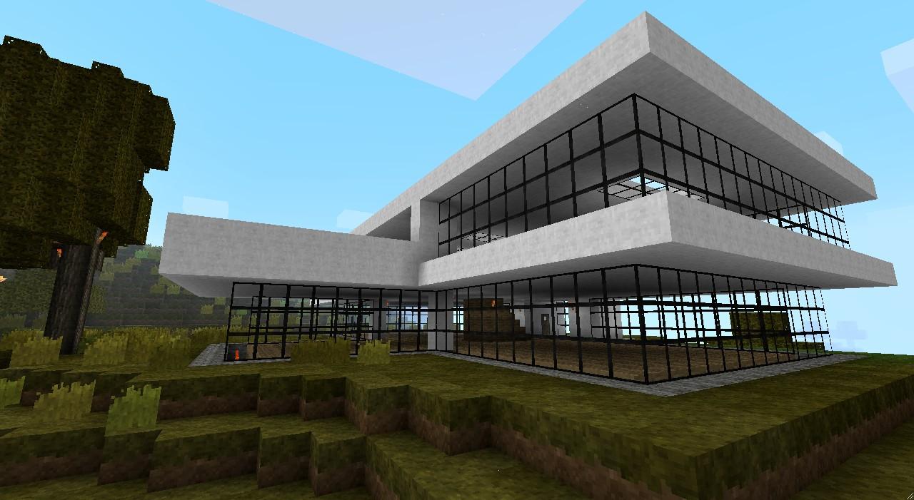 Modern house bundle 9 structures minecraft project - Minecraft haus modern ...
