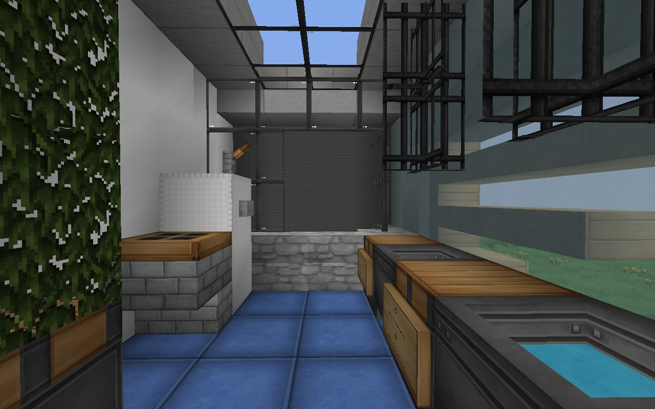 Serenity 16x16 house minecraft project for Bathroom designs minecraft
