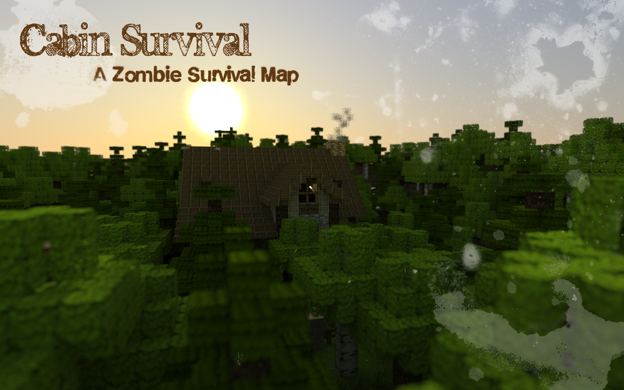 Cabin Survival A Zombie Survival Map Minecraft Project