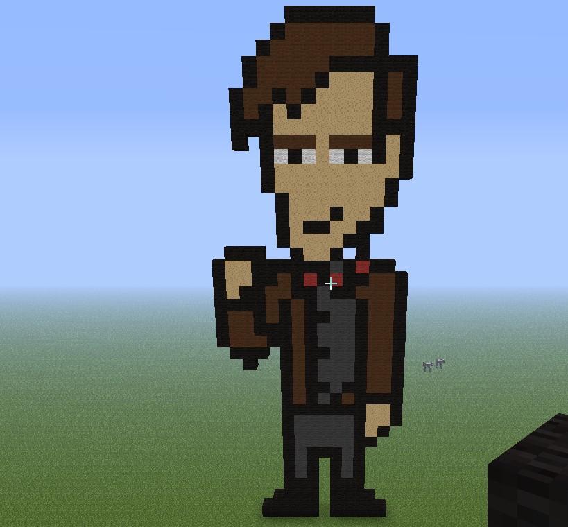 Doctor who   Matt smith Minecraft Project