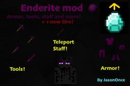 Enderite mod! armor, tools, staff and more! [1.3.2] Minecraft Mod