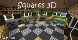 Squares 3D Minecraft