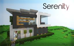Serenity | 16x16 House Minecraft Map & Project